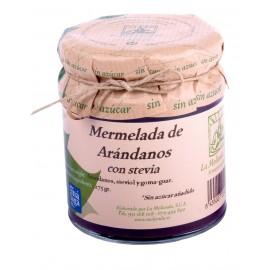 Mermelada de arandanos-con-stevia