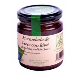 Mermelada de  fresa con kiwi  275gr