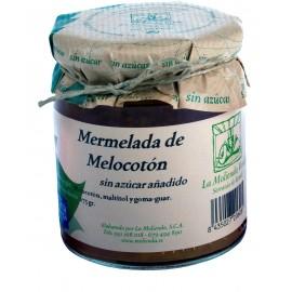 Mermelada de melocoton-sin-azucar 275gr